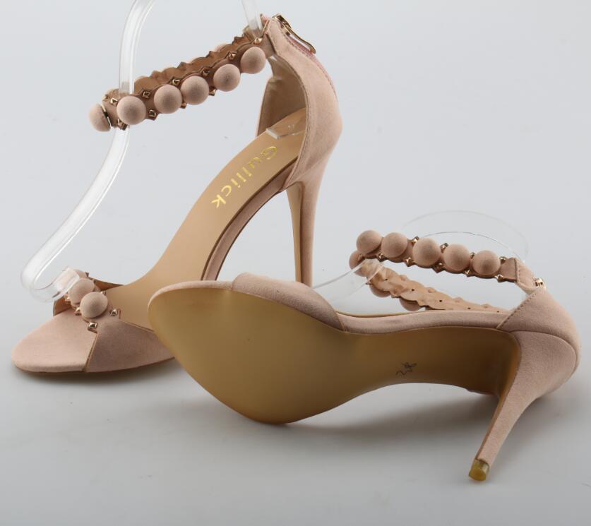 Doux La Bureau Pointu Femme Talon Troupeau As À Ouvert Chaussures Bout D'été Mode Robe Rose Pictures Hauts Dames Zip Couverture Sandales Talons De rrzYwH