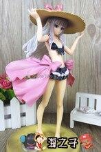 New Hot Classic Game Anime SEGA Shining Hearts Half-Elf Melty Swim Wear Cute Sexy 22CM Figure Toys