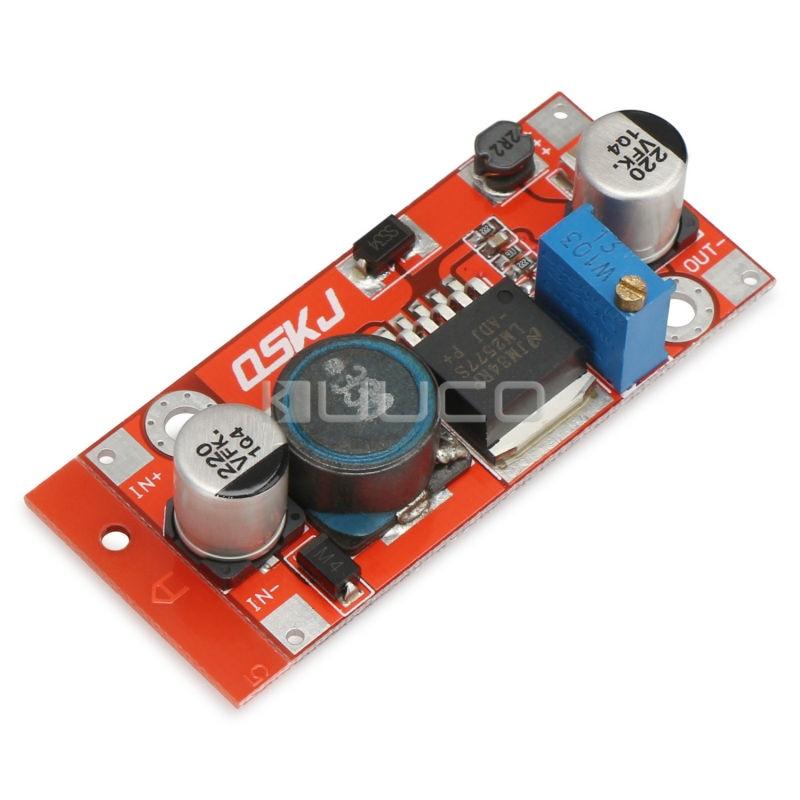 5 PCS/LOT DC 3~34V to 4~35V Power Supply Module LM2577 Step-UP Constant Current Voltage Adapter DC 12V 24V Voltage Regulator