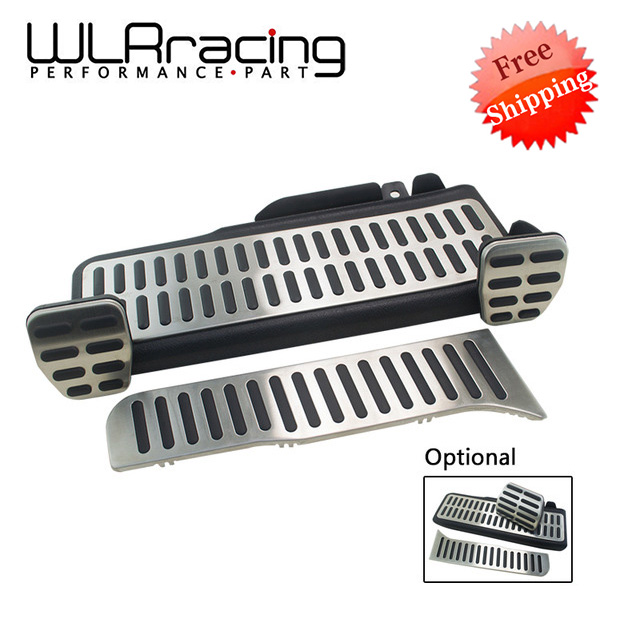 FR- Stainless Car Accelerator Gas Brake pedal Clutch Pedal For VW Volkswagen Jetta MK5 Golf 5 6 Scirocco Tiguan Skoda Octavia