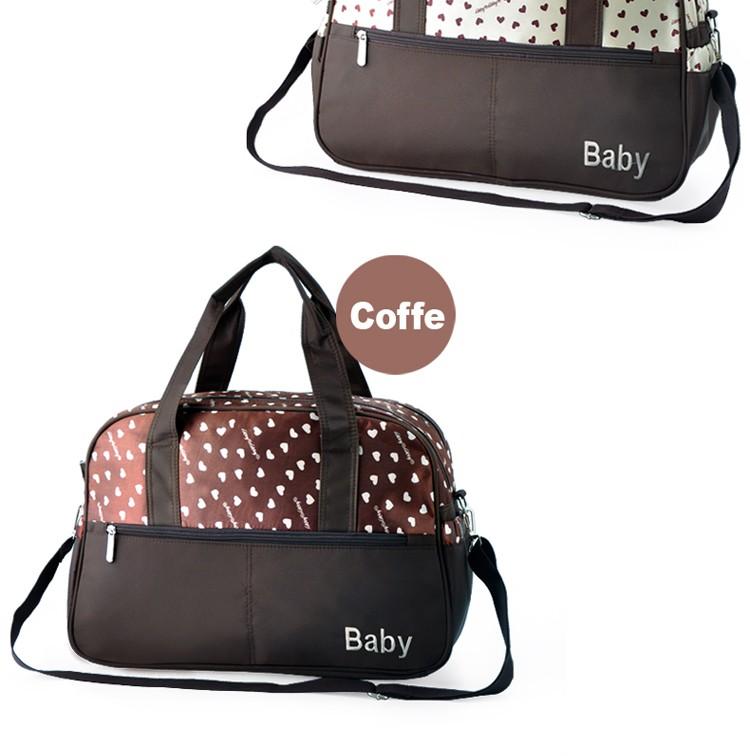 insular multifunctional diaper bags maternity mummy handbag baby care stroller bag High capacity mother Messenger nappy bags 4