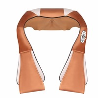 Electric Massage Cape 16 Massage Heads Infrared Therapy Neck Back Waist Pain Relief Health Care Household Massager Device