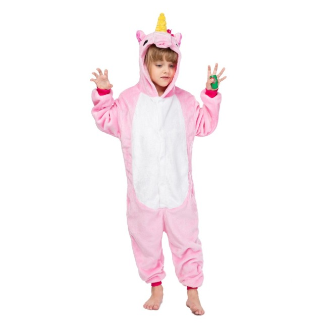 Unicorn Kids Children's Pajamas Onesies