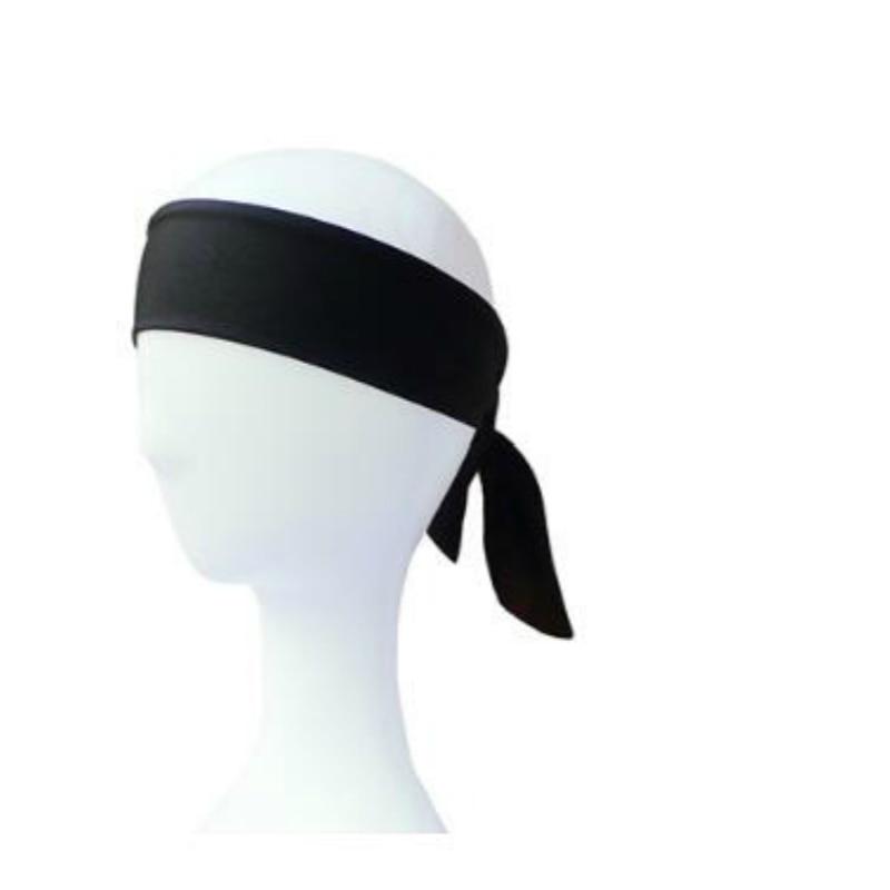 10pcs/lot New Tie Back Headbands Stretch Sports Sweatbands Hair Band Moisture Wicking Workout Sport Yoga Running Men Women Bands