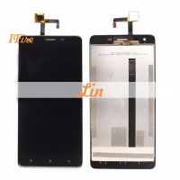 1PCS IFire 5 5inch Lcd For Oukitel K6000 Pro Lcd With Touch Screen Digitizer Assembly Black