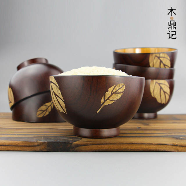 Direct selling Japanese jujube wood bowl leaf wedding gift wooden kitchen tableware supplies & Direct selling Japanese jujube wood bowl leaf wedding gift wooden ...