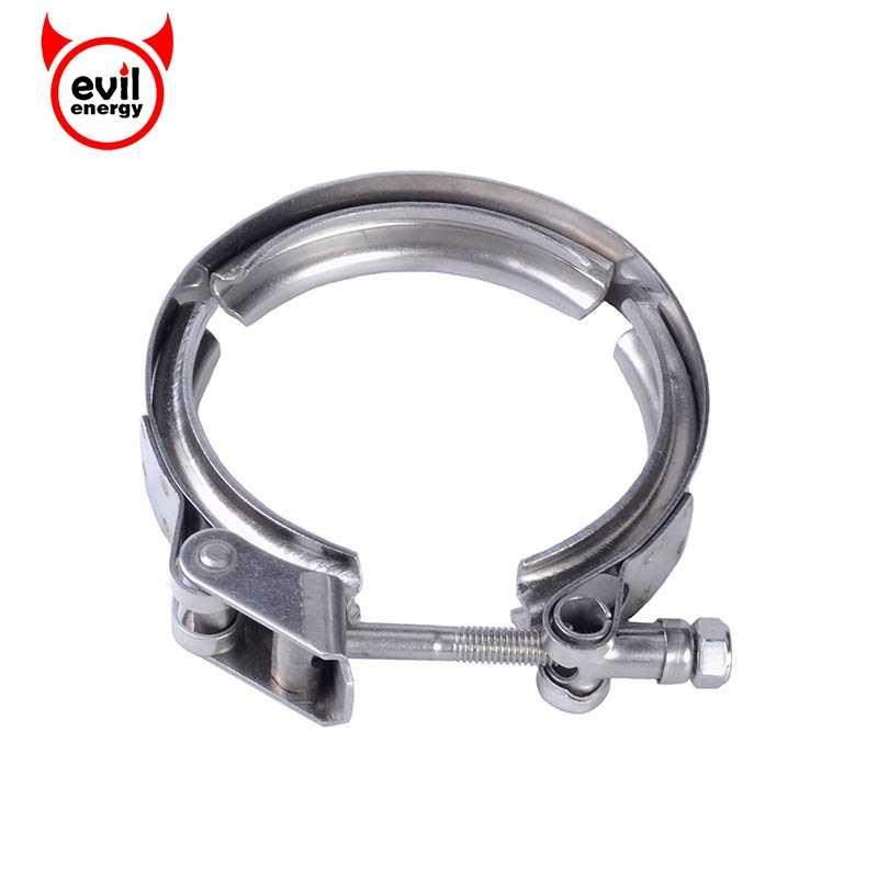 Tornillo de tubo de escape Universal de acero inoxidable de 3,5 pulgadas de energía malvada liberación rápida