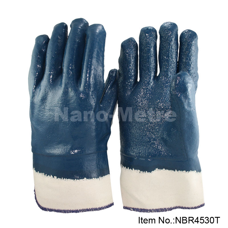 NMSAFETY Nitrile Coated Heavy Duty Industrial Hand Gloves work gloves chemical resistant gloves work-gloves-wholesale evans b14hdd 14 genera heavy duty dry coated