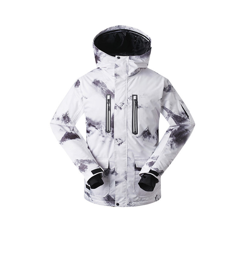 Men font b Ski b font Jacket Snowboard Jacket Windproof Waterproof Outdoor Sport Wear Skiing Snowboard