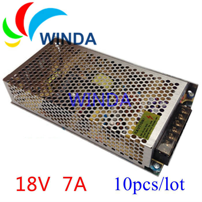 126W switching power supply output 18V7A full range can be applies for all countries centralized power supply 10pcs 20v 1 2a power module 220v to 20v acdc direct switching power supply isolation can be customized