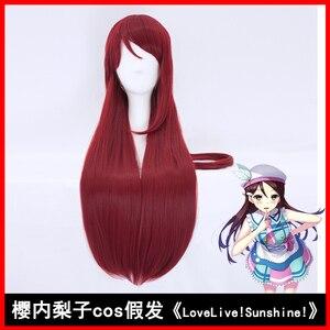 Image 2 - Hsiu nova alta qualidade riko sakurauchi cosplay peruca amor ao vivo! Luz do sol!! Fantasia jogar perucas halloween trajes cabelo