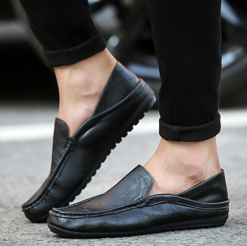 SAGYUA NEW Korean Male Fashion Spring Casual Loafers Hombre Men - Men's Shoes - Photo 5