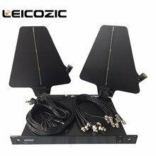 Leicozic Новый UA845/UA874 активная направленная антенна и сплиттер усилитель системы комплект беспроводной антенны распределительная система 550-900 МГц