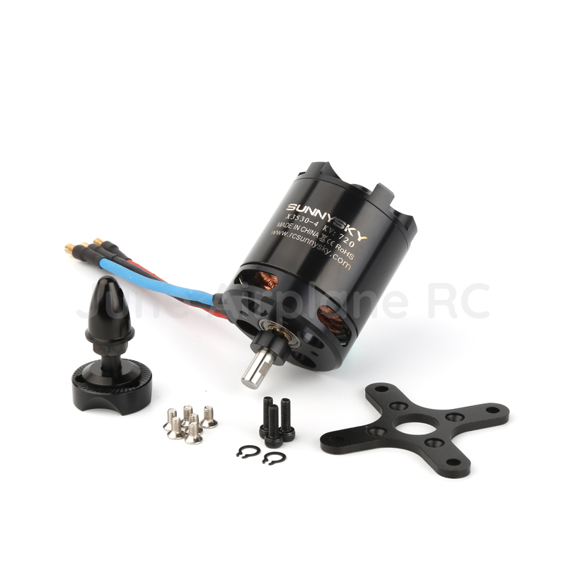 RC Sunnysky X3530 KV570 KV720 Brushless Motor For RC Models FPV Quadcopter drones sunnysky x3525 520kv 720kv 880kv brushless motor x series kv520 kv720 kv880 motor kit for fpv multicopter quadcopter drone uav