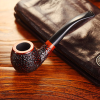 Adous Handmade Bruyere Smoking Pipe Handmade Solid Wood Tobacco Pipe Father S Day Gifts Cigarette Products