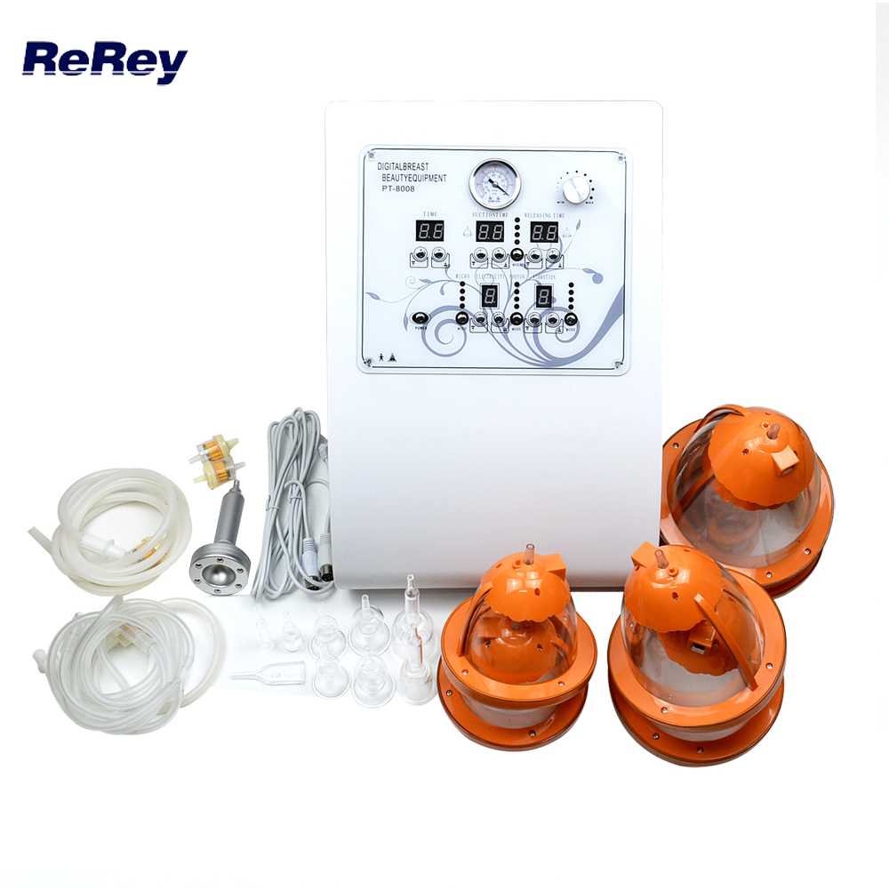 Free Shipping Digital Breast Care Device with Vacuum Lymph Drainage Vibration Massage for Beauty Salon цена