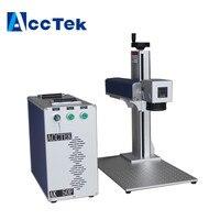 IPG stainless steel fiber laser marking machine,portable 50w 30w fiber laser marker