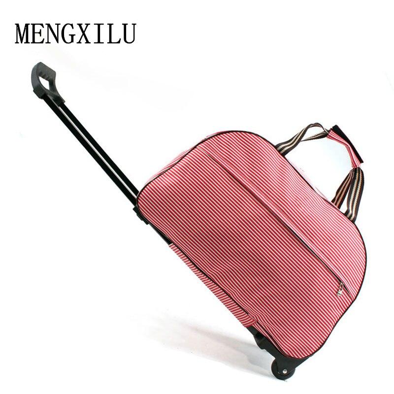 Bagage Metalen trolley Reistassen Koffer op wielen valise bagages - Trolley en reistassen