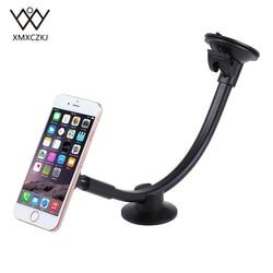 Suporte do telefone do carro magnético universal braço longo pára-brisa painel ímã suporte do carro montar doca para iphone telefone móvel