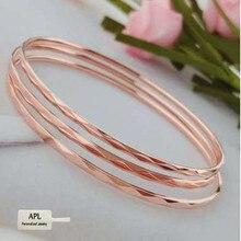 APL-Stainless Steel Products Women's Charm Popular Jewelry Rose Gold Fashion Titanium Steel Bracelet цена в Москве и Питере