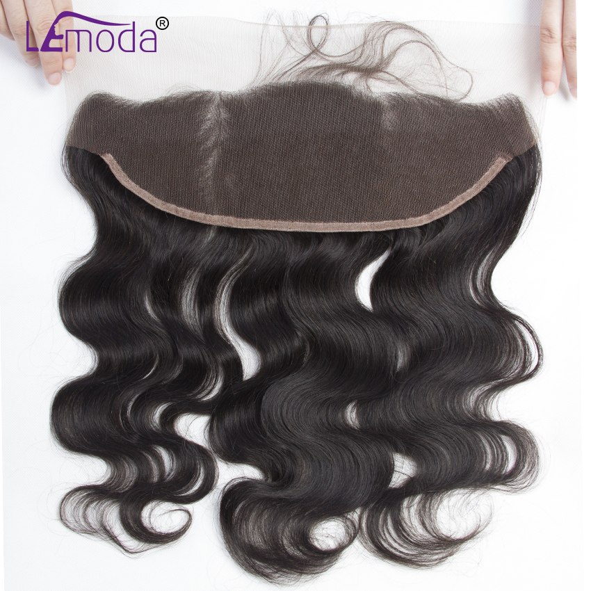 Brazilian Body Wave 100% Human Hair LeModa Remy Hair With Baby Hair