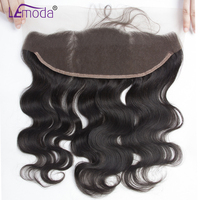 Brazilian Body Wave Lace Frontal Closure 100% Human Hair 13x4 Ear To Ear Lace Closure LeModa Remy Hair Frontal With Baby Hair