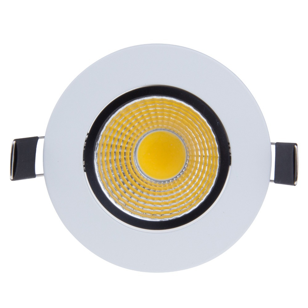 Bright Dimmable led downlight COB Ceiling Spot Lights 3W 5W 7W 10W     Bright Dimmable led downlight COB Ceiling Spot Lights 3W 5W 7W 10W 12W 15W  20W LED ceiling Recessed lamp 4000K Indoor Lighting in Downlights from  Lights