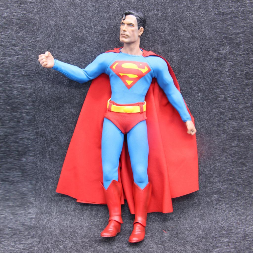 Crazy Toys DC Superman Super Man Hero BJD Action Figure Collectible Toys