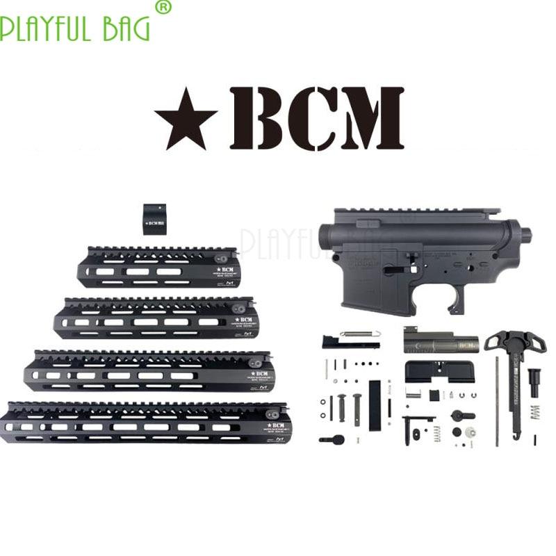 Outdoor CS Toy Water Bullet Gun Refit Nylon TTM Case BCM Engraved Fishbone Case Upgrade Material  BCM Suite Accessories OJ46