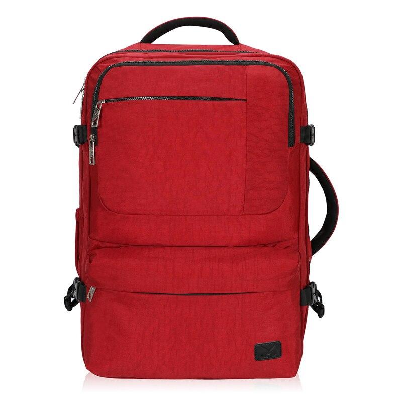 Hynes Eagle Brand Waterproof Backpacks Men Women 44L Carry On Backpack Flight Approved Compression Travel Pack Cabin Bag