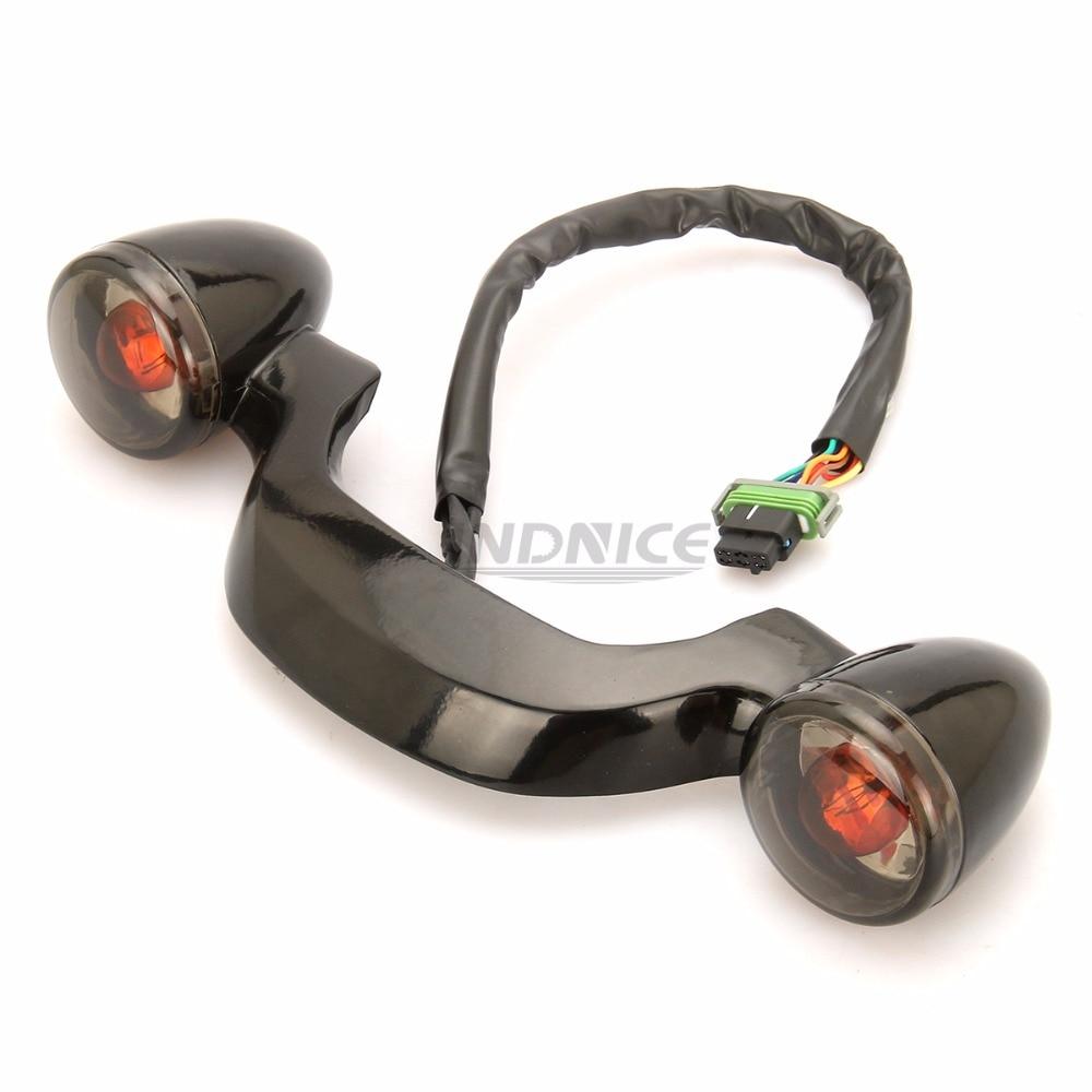 Черная пуля задние фонари бар для harley Road Glide Ультра FLTRU задний свет дорожный король специальный FLHRXS задний свет FLHX