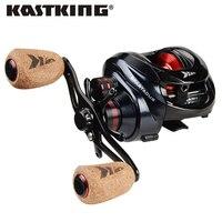 KastKing Spartacus/Spartacus Plus Baitcasting Reel 8KG Drag Power 11+1 Ball Bearings 6.3:1 High Speed 230g Fishing Reel