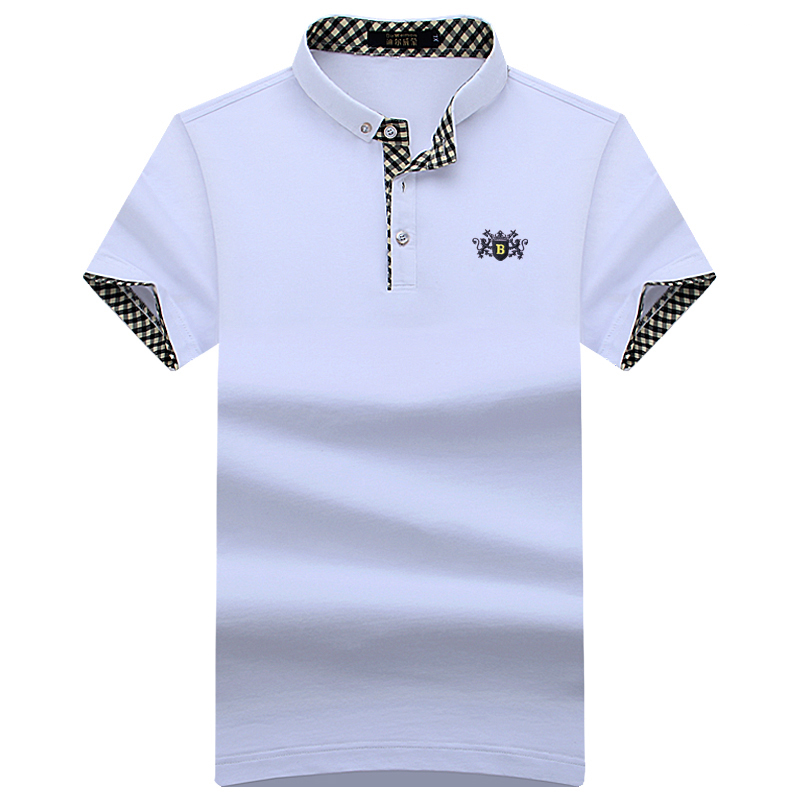 New 2019 Summer Men Polo Shirts  Short Sleeve Cool Cotton Slim Fit Casual Business Men Shirts Luxury Brand Size S-10XL