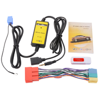 Car Audio MP3 Player Interface USB Aux Cable Adapter For Audi A4 S4 A6 S6 AC471
