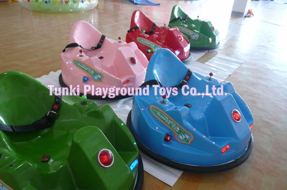 UFO Type Stainless Steel Inflatable Bumper Car Toy Car For Kids