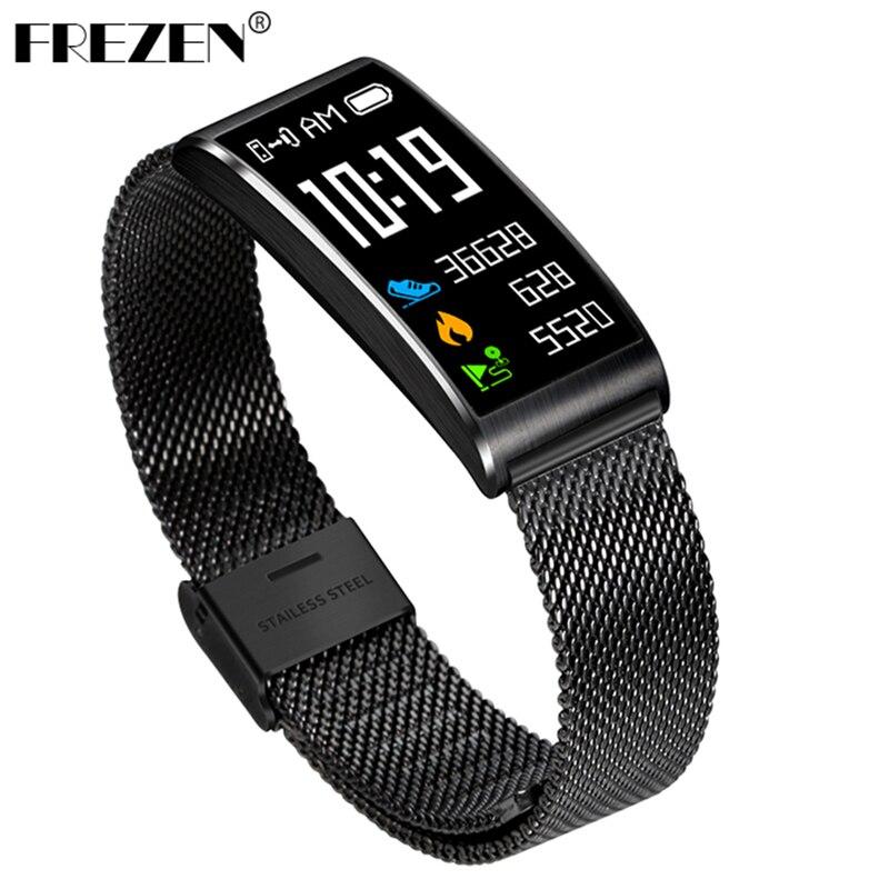 FREZEN Smart Band X3 Smart Bracelet Bluetooth 4 0 Fitness Band Heart Rate Blood Pressure Monitor