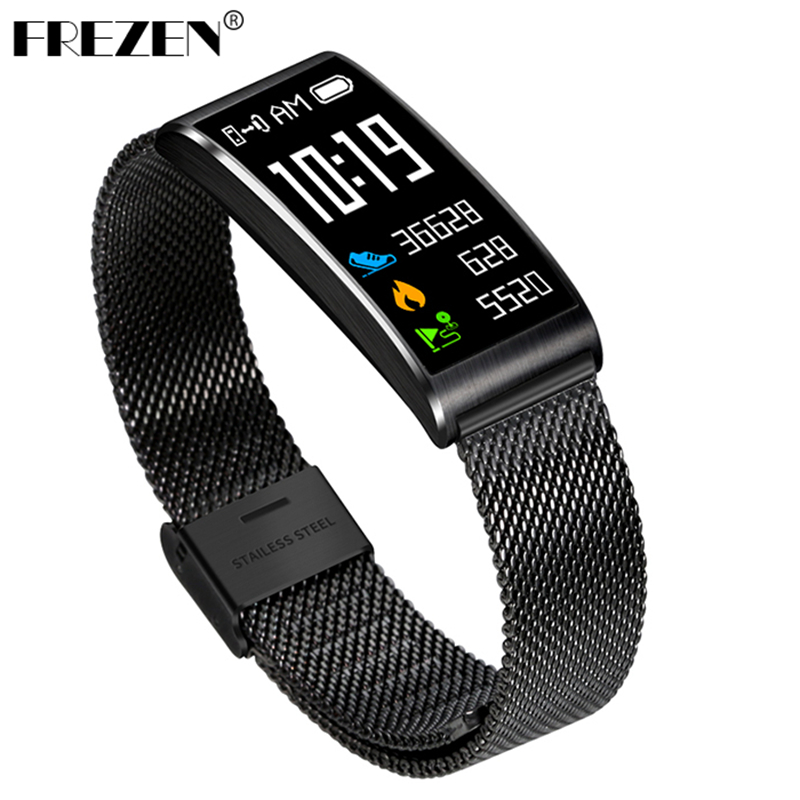 FREZEN Smart Band X3 Smart Bracelet Bluetooth 4.0 Fitness Band Heart Rate Blood Pressure Monitor IP68 waterproof Call reminder