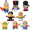 New!!! 8pcs Full Set  Minions McDonalds Happy Meal Toys Minios Cartoon Dolls Despicable Me 3 Action Figure Limited Edition