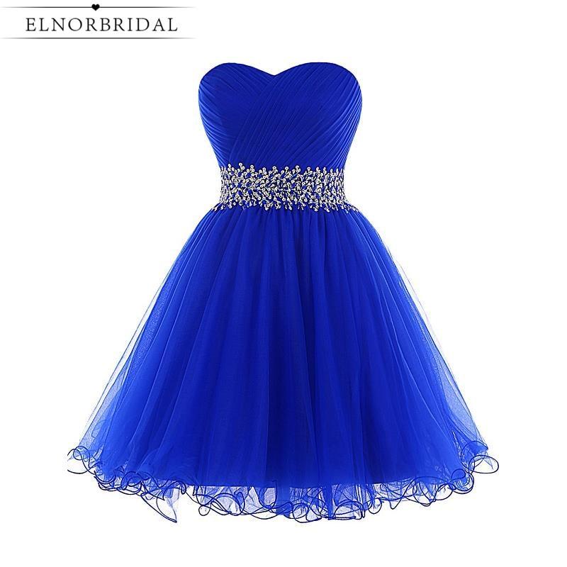 Royal Blue Short Party Dresses for Girls