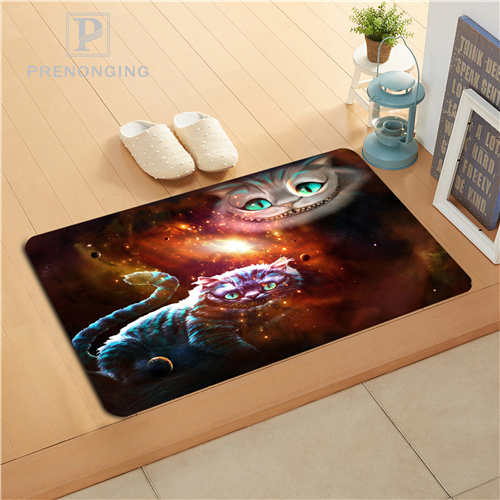 Custom Deadpool Galaxy Cat Print slip-resistant Mats Floor Bedroom Living Room Rugs 40x60cm 50x80cm Free Shipping 171120-04