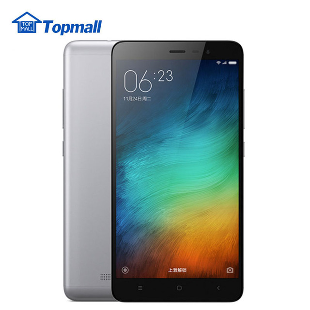 Original Xiaomi cell phone Redmi Note 3 Pro 3GB RAM 32GB ROM Snapdragon 650 Hexa Core 5.5'' 4000mAh google play Fingerprint ID