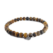 Ourania 2019 New Fashion Beaded Men Bracelets Simple Classic Stone Beads Charm & Bangles Male Jewelry For Gift