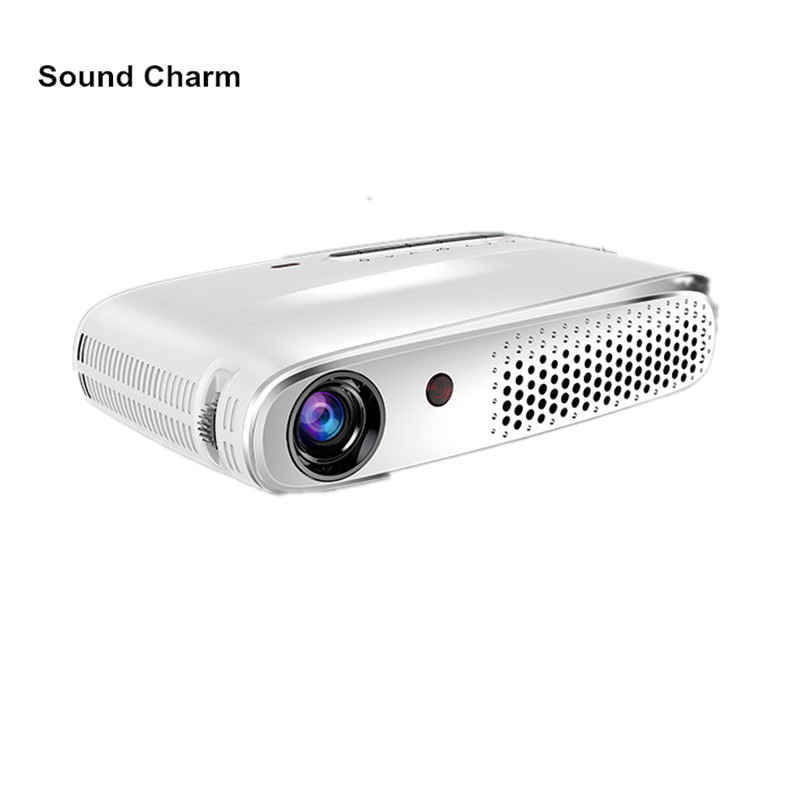 все цены на Sound charm Mini Full HD Projector 1280*800 Android Projector Bluetooth, WIFI, Support Airplay, Happycast онлайн