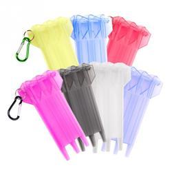 1 stücke Dart Fall Tasche Dart Zubehör Transparent Kunststoff Tragbare Dart Lagerung Box