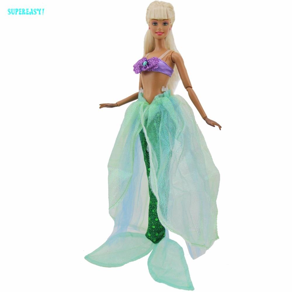 Gorgeous Fairy Tale Mermaid Outfit Sea Princess Party Dress Bra ...