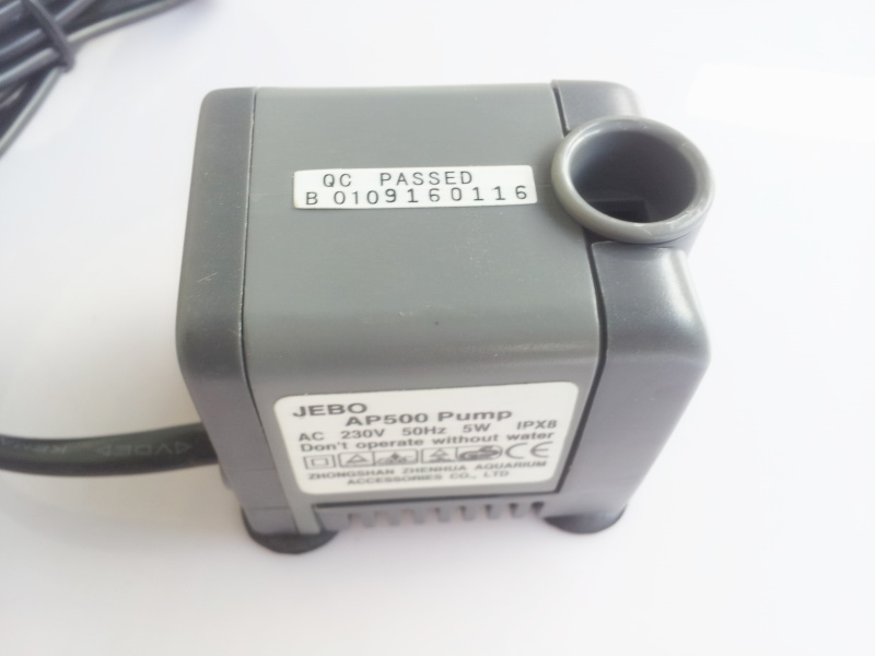 Fish AP500 230V 5W JEBO pump аквариум jebo d cfvfht