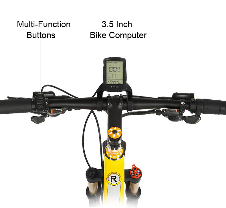 HTB1zZPQbo rK1Rjy0Fcq6zEvVXaX - 27 Pace Electrical Scooter 48V Electrical Bicycle 240W Hydraulic Disc Brake and Oil Suspension Grownup Folding Moveable Electrical Bike