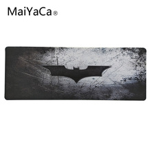 Купить с кэшбэком MaiYaCa Batman mouse pads Speed Large Lock Mouse Pad High Quality Rubber Gamer Soft Lockedge Keyboards Mousepad 30x90 cm