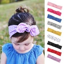 Sweet Dot Kids Headband for Girls Rabbit Ear Baby Hairband Infant Turban Newborn Hair Accessories