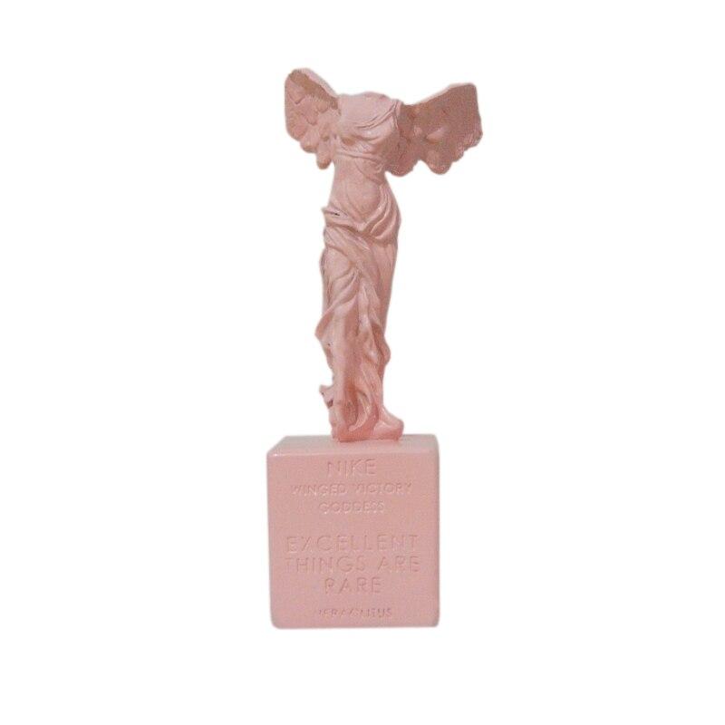 Deusa da Vitória vitória Escultura Estátua de Resina Artesanato Modelo de Decoração Para Casa Enfeites De Sala de Estúdio Acessórios de Decoração